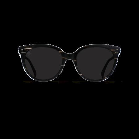 Raen Lily eyewear - Licorice/Dark Smoke Polarized