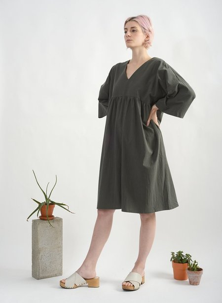 Meg Everyday Dress - Army Green