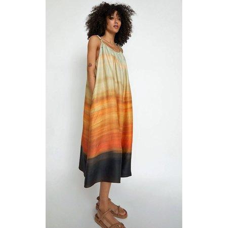 No.6 Ruby Dress - Blue Sunrise