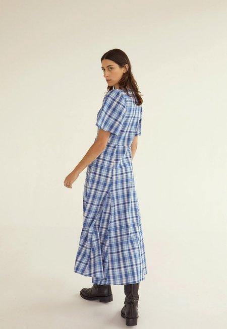 permanent vacation Perception Dress - Check