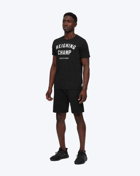 Reigning Champ lightweight terry sweatshort - black