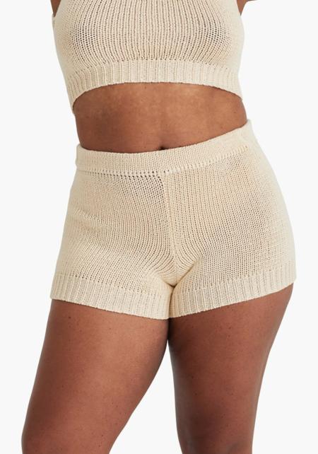Paloma Wool Zubat Shorts - Ecru