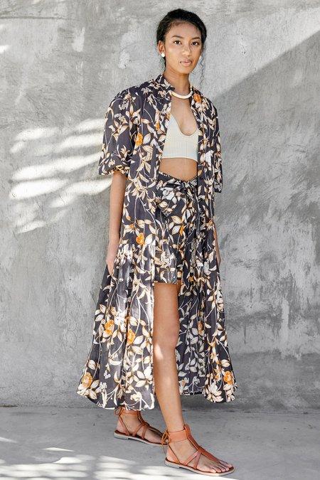 CHRISTY LYNN Lana Dress - Ivory Desert Rose