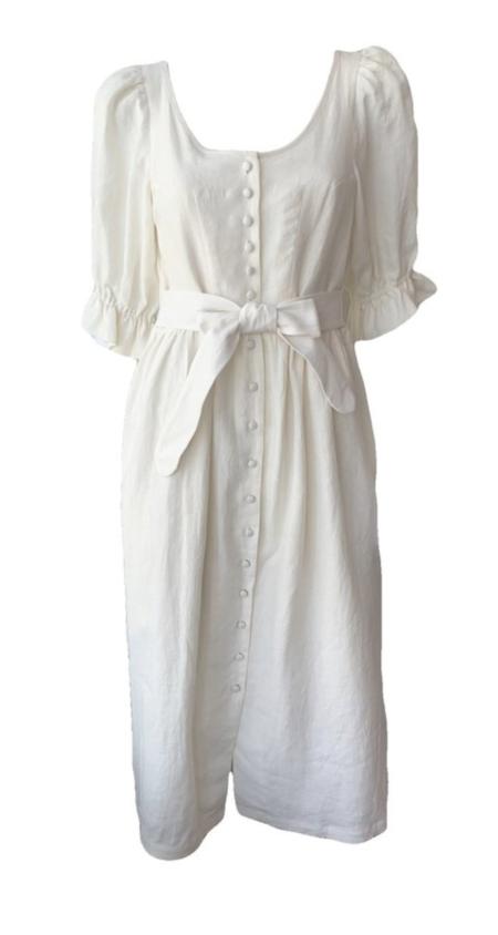 Emerson Fry Meadow Dress - Salt