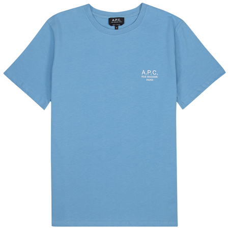 A.P.C. Raymond  T-shirt - Bleu