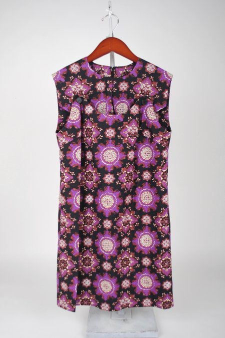 Rachel Comey Breva Dress - Black Multi