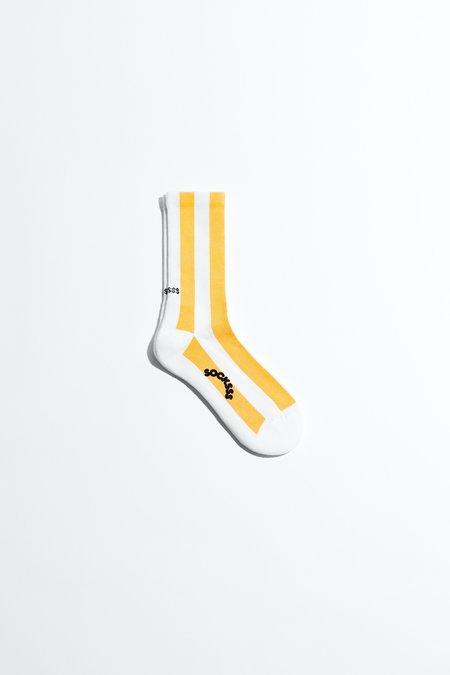 Socksss Tennis Socks - Stripes Sunbeam