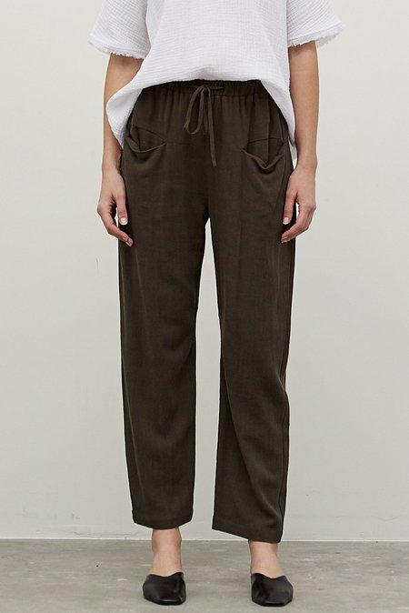Grade & Gather Linen Front Pocket Pant