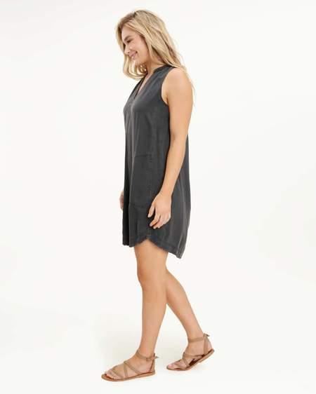 Splendid Joella Woven Dress - Lead Grey