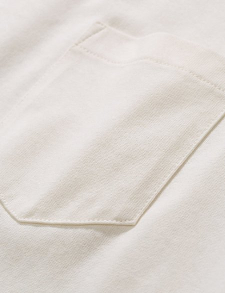 Norse Projects Johannes Pocket Long Sleeve T-Shirt - white