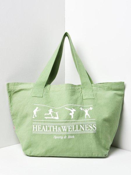 Sporty & Rich Health Wellness Tote Bag - Green