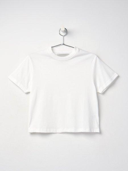 Studio Nicholson MARINE SNW PERFECT TEE - WHITE