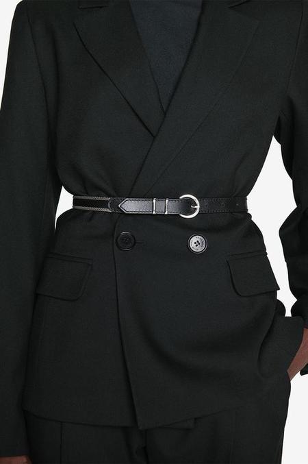 Anine Bing Palmer Belt - Black
