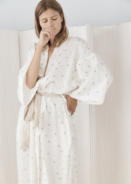 [Pre-Loved] Deiji Studios Robe - Floral Print