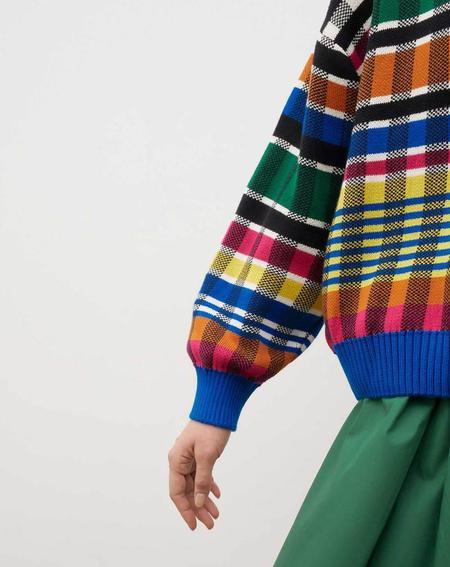 Kowtow Check Jumper sweater - multi