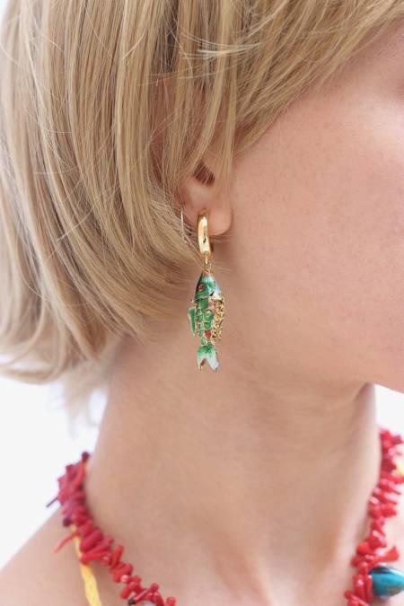 Serendipitous Project Poisson Earring