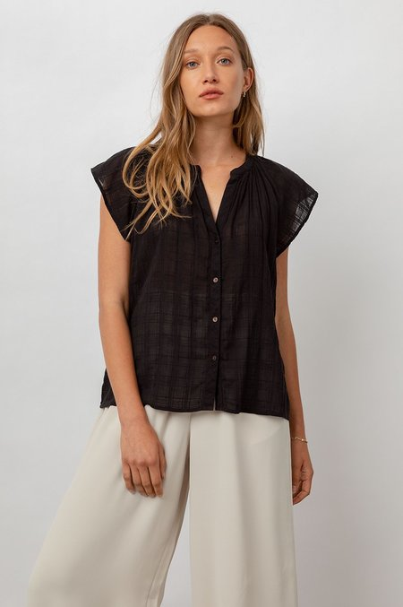 Rails Alena Shirt - Black