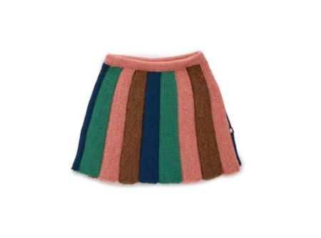 KIDS Oeuf Striped Skirt - MULTI