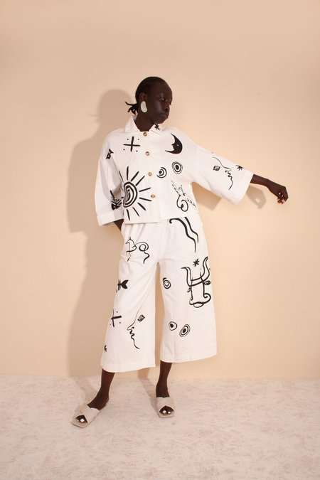 L.F.Markey Roger Jacket - Picasso Print