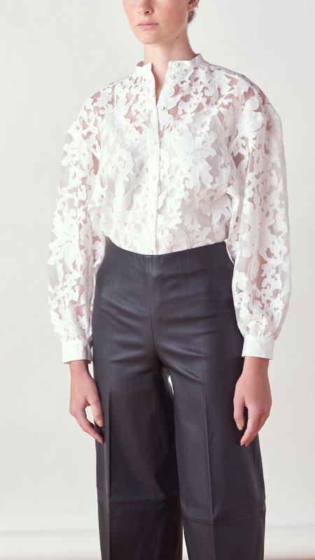 By Malene Birger Emmett Shirt - Soft White