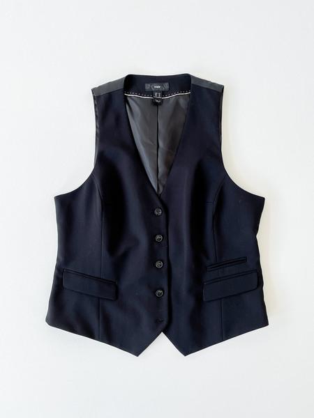 Vintage Suit Vest - Black