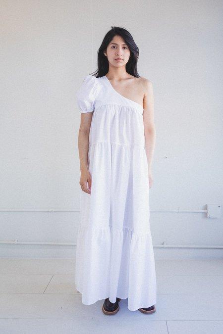 Tigre Et Tigre Yang Dress - White