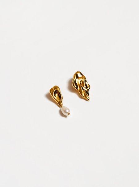 Wolf Circus Gala Earrings - Gold