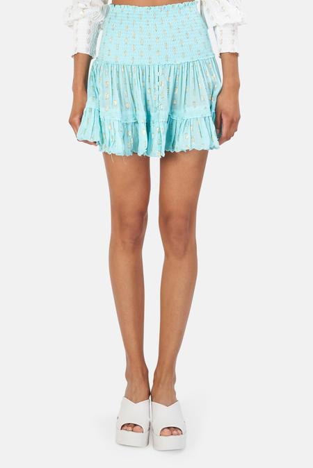 Sunday Saint Tropez Pomponette Skirt - Turquoise
