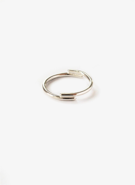 Rachel Gunnard Half and Half Silver Ring