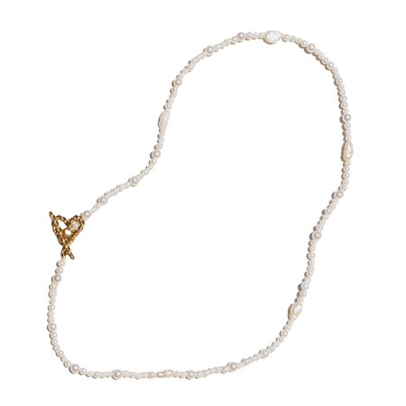 Luiny Caro Necklace - Pearl