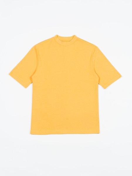 archie Grandad Shirt - Sun Yellow