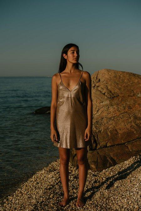 alyson eastman Summer Dress - Bronze