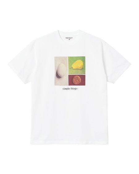 CARHARTT WIP Camiseta De Manga Corta Simple Things - White