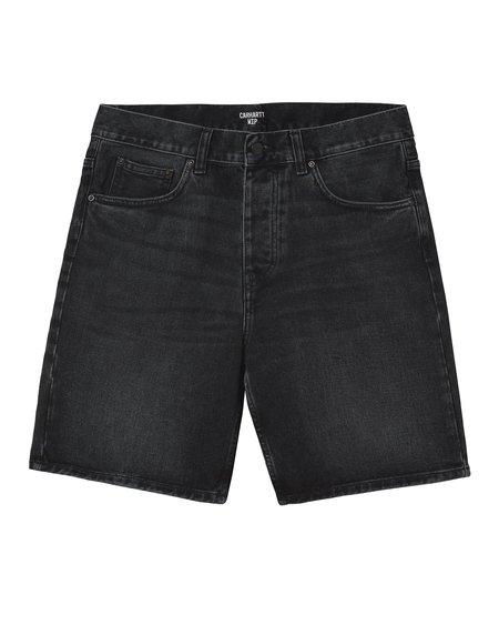 Pantalón Corto Newel - Black Mid Worn Wash
