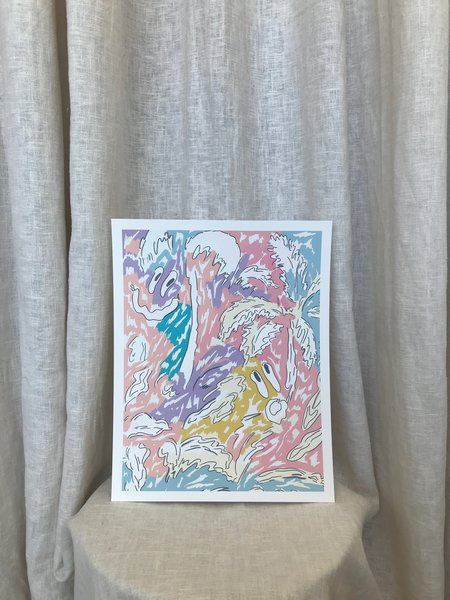 Slowdown Studio Underwater Tropics Art Print