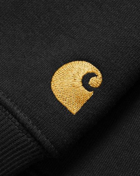 CARHARTT WIP Sudadera Chase - Black/Gold