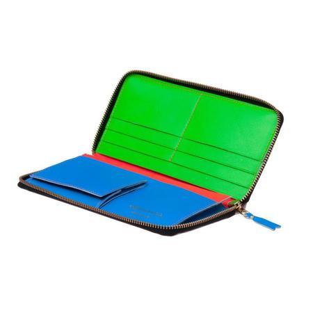 Comme Des Garçons Long Zip Wallet - Super Fluo/Orange