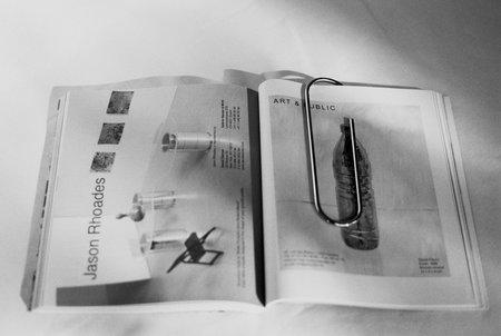 Carl Auböck Large Paperclip Bookmark - Nickel