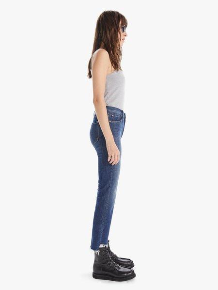 Mother Denim The Insider Crop Step Fray Jeans - Girl Crush