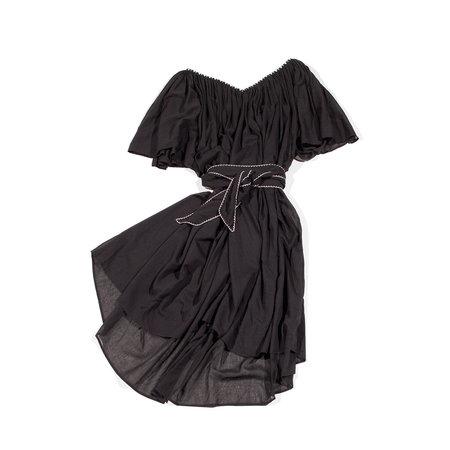 Anaak Isadora Flutter Sleeve Dress - Black
