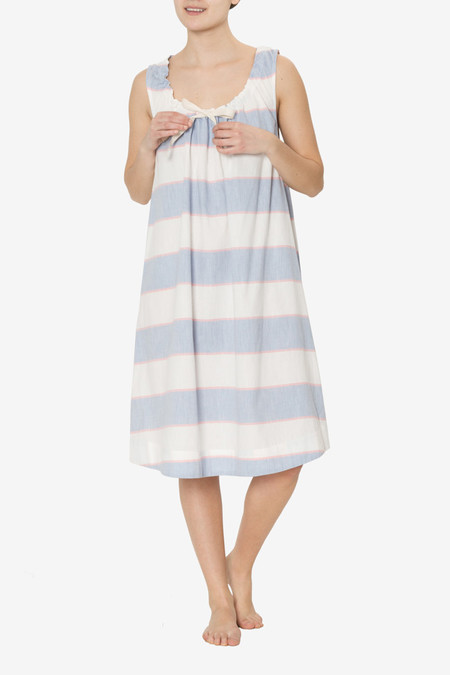 The Sleep Shirt Sleeveless Nightie Montauk