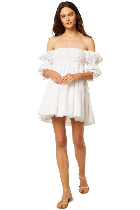 Misa Los Angeles Zadie Dress - White