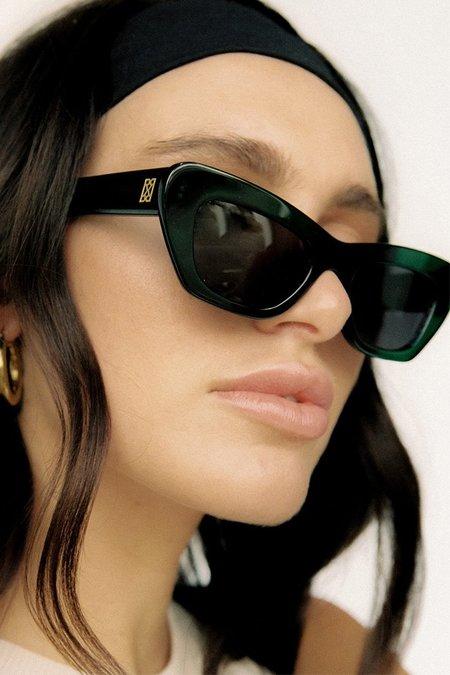 Raie Eyewear Ivy Sunglasses - Hemp Green