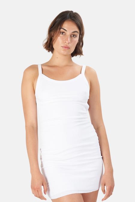 Cotton Citizen Verona Tank Dress - White