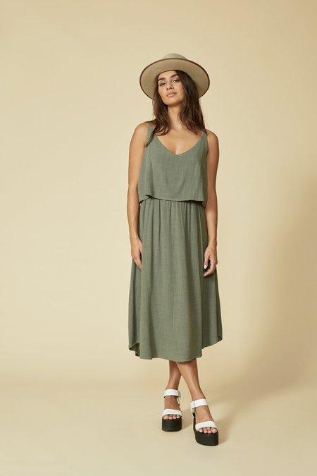 Cokluch Sauble Dress - Sage