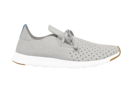 Native Shoes Apollo Moc (Pigeon Grey/Shell White)