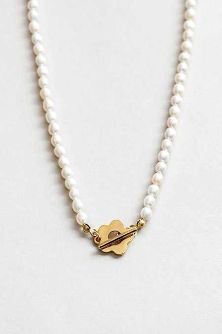 Wolf Circus Sofia Pearl Necklace - Gold
