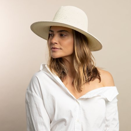 Hat Attack Vented Luxe Packable Hat - Natural