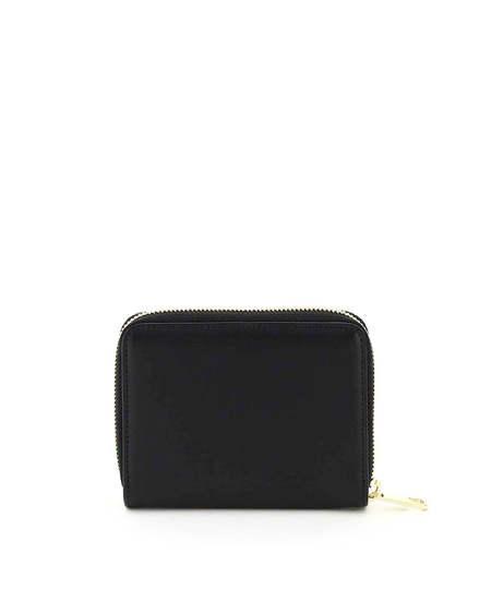A.P.C. Emanuelle Leather Wallet - Black