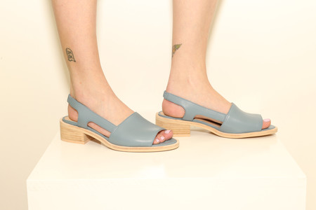 EMAT Blue Leather